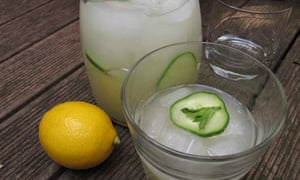 A glass apart … Felicity's perfect lemonade.