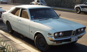 King of the road … a Toyota Corona Mark II (produced 1972-6)