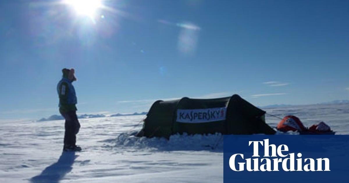 I skied solo across Antarctica