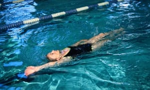 Different strokes … 'I still swim up to 50 lengths at my local pool'