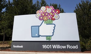 Facebook and flowers