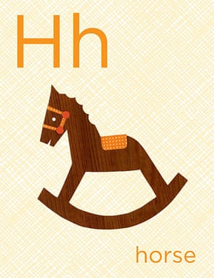 Alphabet : H is for horse