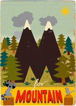 Alphabet : M is for Mountain from Paul Thurlby