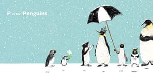 Alphabet : P is for penguin from Eightbear