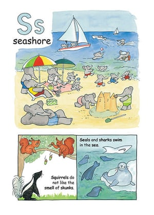 Alphabet : S is for seashore from Babar