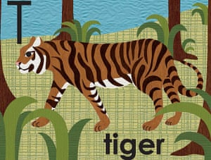Alphabet : T is for tiger