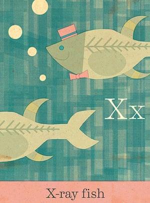 Alphabet : X is for Xray fish