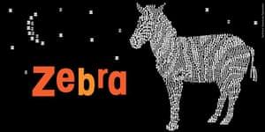 Alphabet : Z is for zebra from Alphabeasties