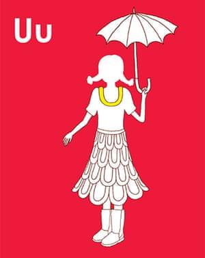 Alphabet : Umbrella from Rosie Flo