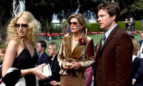 Portia de Rossi, Jessica Walter and Jason Bateman in Arrested Development