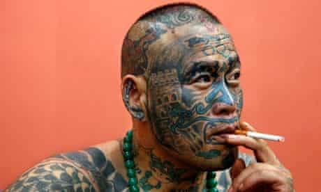 Liu Ming, a tattoo enthusiast from China