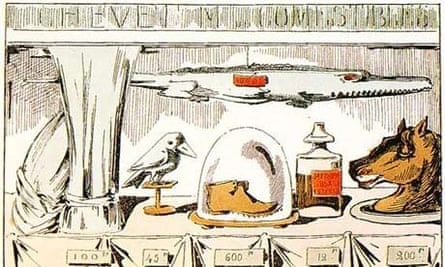 Horsemeat lithograph from 1870