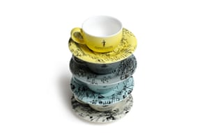 Tube anniversary products: Espresso cup set