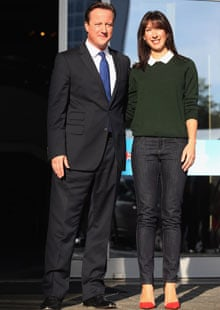 Samantha Cameron in skinny jeans