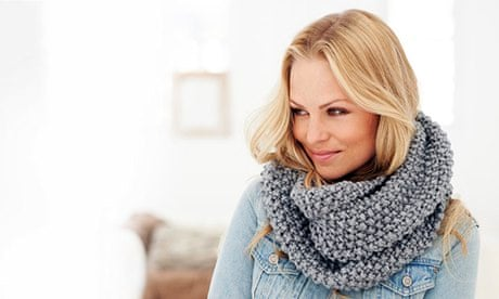 Easy Knit Snood For Wool Week Life And Style The Guardian
