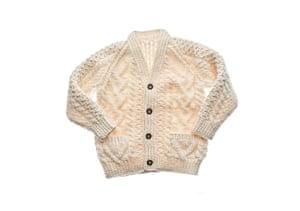 Wool Week gallery: Aran cardigan