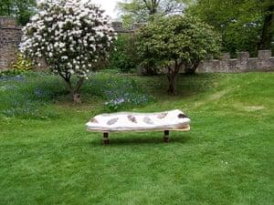 Wool Week gallery: Felt coffin by Ellie Langley