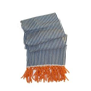 Wool Week gallery: Nautical knitted wrap
