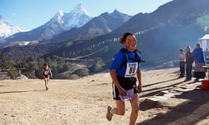 Running in the Himalayas