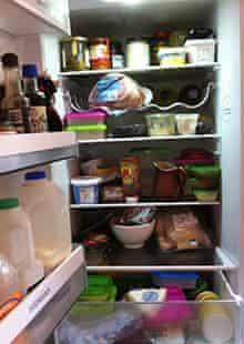 Lucy Mangan's fridge