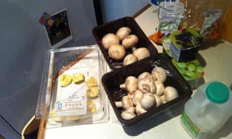 Tom Meltzer's fridge contents