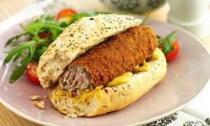 Broodje kroket sandwich