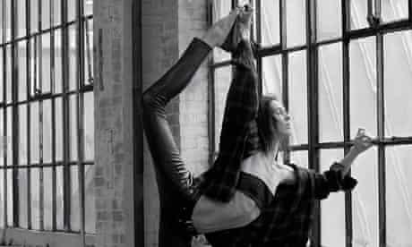Ballet pumps in a Saint Laurent video