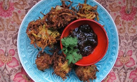 How to make the perfect onion bhajis | Food | The Guardian