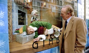 Bought up … Will Ferrell and James Caan in Elf.