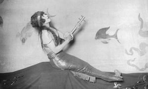 Costume change … Australian silent-film actress and swimming star Annette Kellerman.