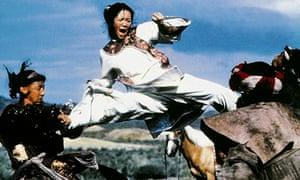 Zhang Zi Yi in Crouching Tiger, Hidden Dragon
