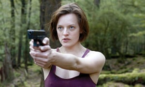 Elisabeth Moss as Robin in Top of the Lake