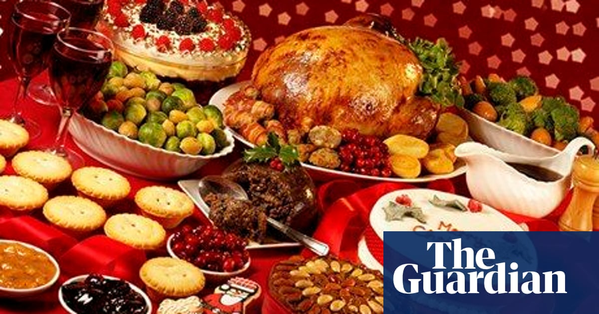Christmas Meal.How To Eat Christmas Dinner Food The Guardian