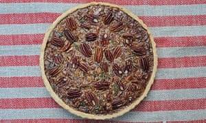 Ruby bakes Rosemary Pecan Pie