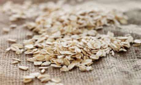 Rolled oats on jute GFY