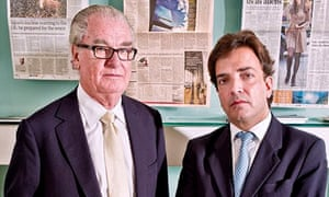 Tim Bell and James Henderson of Bell Pottinger
