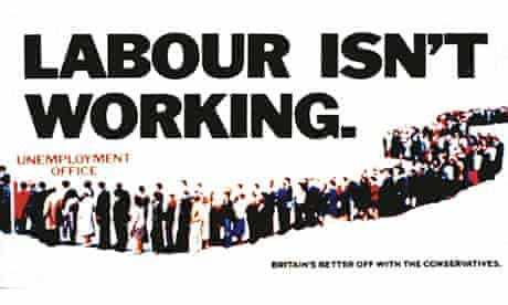 'Labour Isn't Working' campaign poster