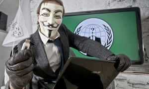 Portraits of an Anonymous hacktivist