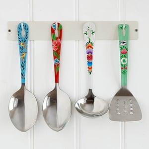 Simple things gallery: Boho utensil set and rack