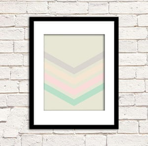 Simple things gallery: Chevron print