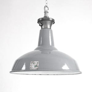 Simple things gallery: English cotton mill pendant