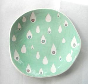 Simple things gallery: Handmade plate