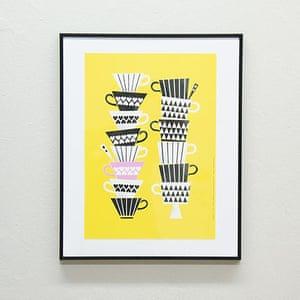 Simple things gallery: Juliste Santsi print