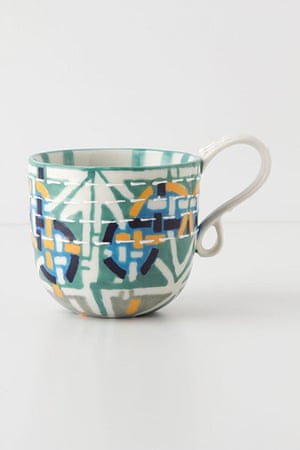 Simple things gallery: Kantha stitched mug