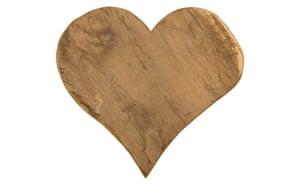 Simple things gallery: Vintage heart cutting board