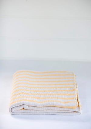Simple things gallery: Yellow stripe blanket