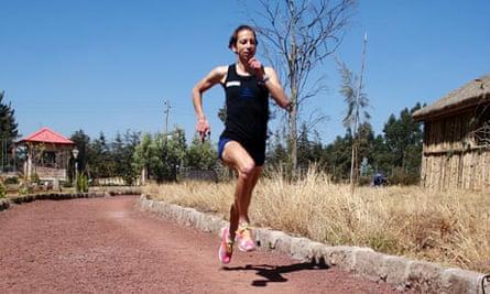Celia Taylor training in Ethiopia