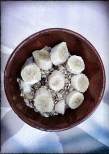 Trevor Baker's breakfast