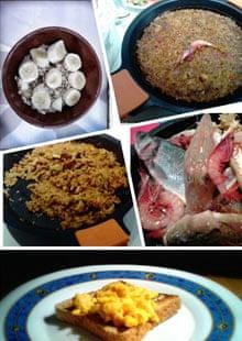 Trevor Baker's food collage