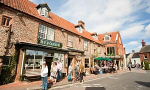 Byfords bakery and cafe in Holt, Norfolk